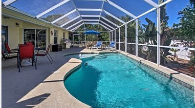 Photo for LOOK NO FURTHER!! Private Home w/Pool; sleeps 6+ Centrally located