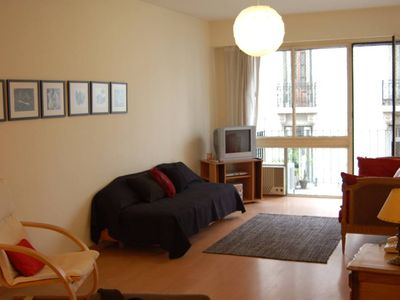 Photo for Modern and cozy apartment, well located, cafés, restaurants, shops, theaters nearby