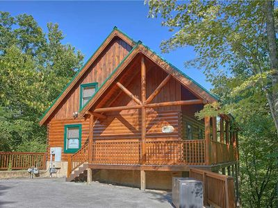 Photo for Affair of the Heart  | Private | Secluded | Beautiful Mountain Views | Hot Tub | Community Pool