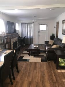 Photo for Exceptionally beautiful,1922 condo, close to downtown, fire pit
