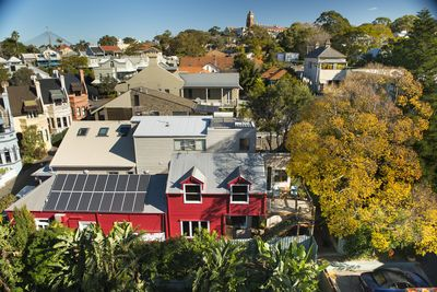 An Oasis in the City, Solar Powered B&B