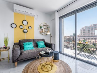 Modern & Stylish 2 BDR  with Balcony in the Center of Jerusalem - Even Israel