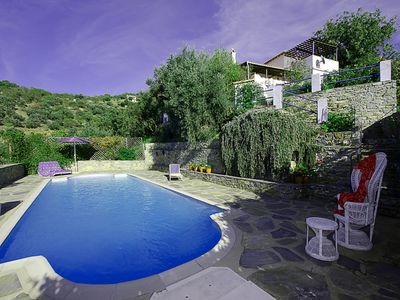 Photo for CHARMING, TRADITONAL VILLA, SECLUDED, LUXURY POOL, MAGESTIC SEA VIEWS,WIFI,