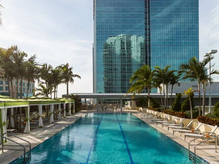 Luxury 2br 2ba at the conrad hilton in brickell with - Florida condo swimming pool rules ...