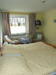 "Photo for Double Room No. 1/2/7 -. Pension ""Bed & Breakfast behind the North Sea dyke"""