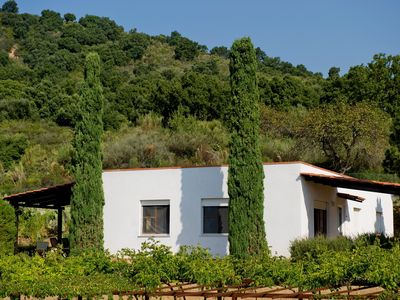 Photo for Holiday apartment Holiday apartment surrounded by mediterranean nature with grill