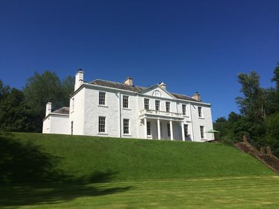 Photo for DUMCRIEFF HOUSE,  LUXURIOUS COUNTRY MANSION in PRIVATE GROUNDS nr MOFFAT