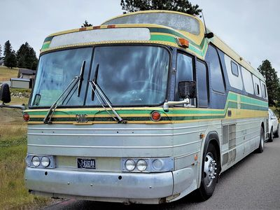 "Photo for ""Delores"" is a Beautifully Converted Class A 1974 MT Charter Bus on Full Hookups"