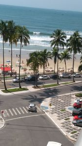 Photo for Apt. with beautiful view of the Beach of Pitangueiras in the Corner of the Over the Waves.