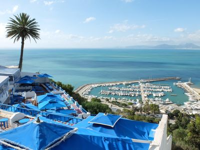 Photo for Amazing 3 Bed Apartment @ Sidi Bou Said Village