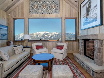 Photo for Moonlight Basin Membership Mountain Home w/ Ski In/Out Access & Hot Tub
