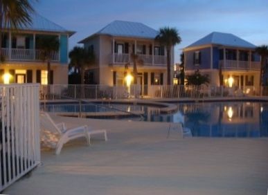 Bungalow's at Seagrove main pool & hot tub.