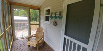 Photo for KITE POINT COTTAGE - WATER ACCESS - SCREEN ROOM - KITE BOARDING AND KAYAKING