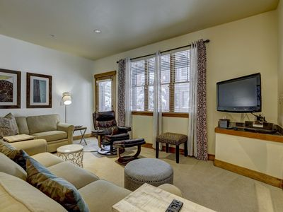 Photo for Winter Wonderland -Spacious 1st Flr 2&2 near ski school/rentals,lift, hot tub
