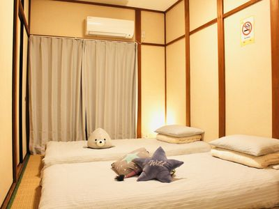 Photo for ☆ Station walk 2 minutes Namba direct connection 8 minutes ☆ 4LDK2 toilet ☆ 3-story Japanese style guest house charter house-YUYU HOUSE KIKI