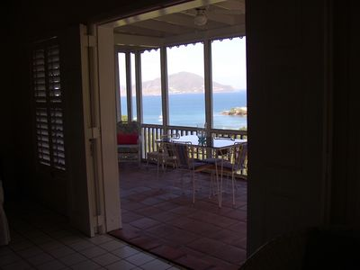 Fabulous Views Overlooking Oualie Bay & The Narrows To St Kitts