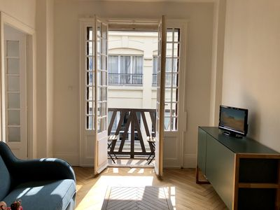 Photo for Charming 50m² apartment in the heart of Trouville