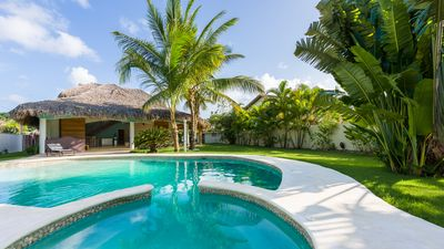 Photo for Villa Toali, at 2 steps from Punta popi beach with private pool and jacuzzi