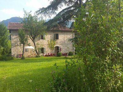 Photo for Former farmhouse in the Apennines with swimming pool and a magnificent panorama.