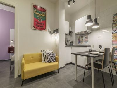 Photo for Testaccio Colorful Apartment with Terrace