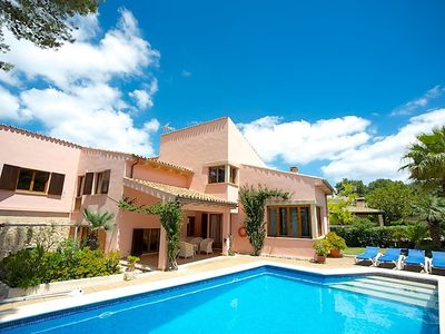 Photo for Vacation home Villa Rosa Cala Gran  in Cala San Vicente, Mallorca - 8 persons, 3 bedrooms