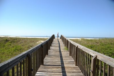 Just steps down the boardwalk & you are on the sand & the Gulf of Mexico!