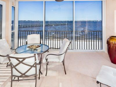 Photo for On River-Amazing Views-Iona/Ft Myers Condo Seasonal Rental