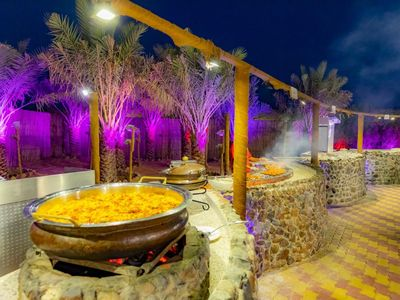 Photo for BEST OUTDOOR DINNER WITH EXTREME DESERT SAFARI ADVENTURE, OVER NIGHT STAY
