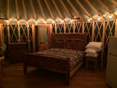 Photo for Brand New Yurts in the wilds of MT-Stay @ GNP like no other! 7mi. from W Glacier