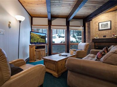 Photo for Private Steamboat Condo - Spacious Layout w/ Awesome Summer Location.