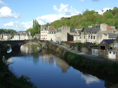 Photo for Charming apartment on port of Dinan with garden