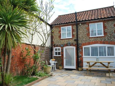 Photo for Romantic Flint Cottage on the Suffolk Coast