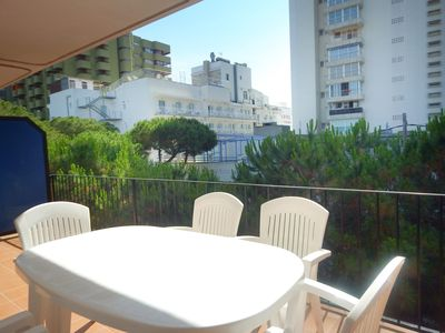 Photo for Platja d'Aro Second floor apartment with parking at 2nd line of sea