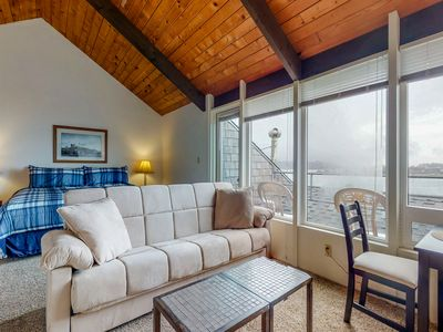 Photo for Waterfront studio near the beach w/ incredible views, shared pool, & hot tub
