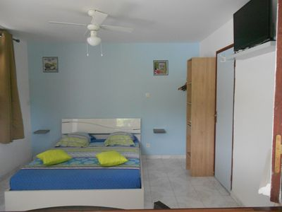 Photo for GITE GWAD ASIA 5 minutes from the beach of Grande Anse and Bourg