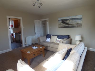 Photo for Stunning 2 bed self catering seaside apartment, modern stylish throughout