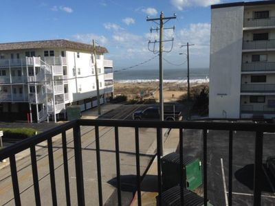 Photo for Lovely oceanside with large balcony