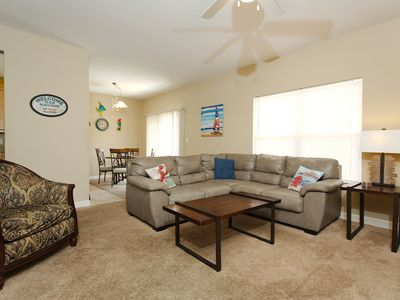 Photo for Ground Floor!! Poolside!!Clean Spacious 2 Bed 2 Bath. Relax, Unwind by the Pool