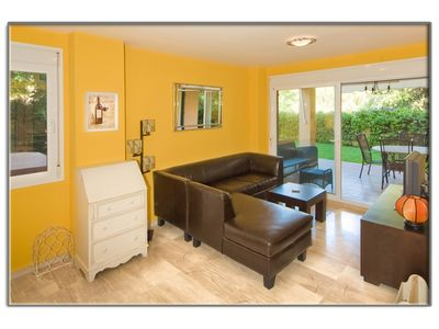 Photo for Low with private garden, in Alicate beach (Marbella), 2 bedrooms and 2 bathrooms.