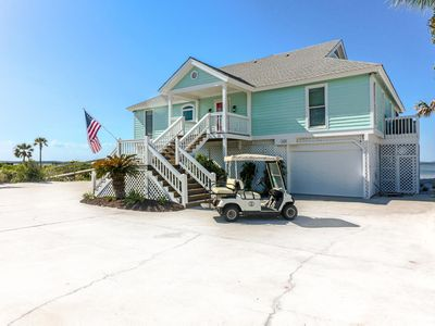 Photo for Luxurious large estate right on beach with all modern amenities