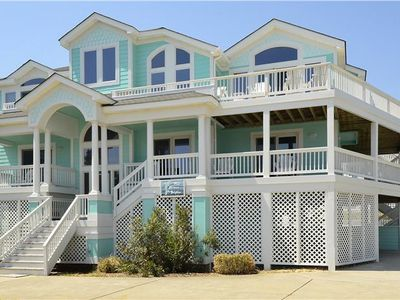 Photo for #BU33: OCEANSIDE Home in Corolla w/HeatedPool, HotTub & Elevator