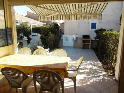 Photo for Holiday house for 4 sleepings, in a secured residence- PORTIRAGNES PLAGE