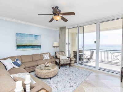Photo for Gorgeous Gulf Front Condo ~ Directly on the Beach with Pool~ Private Balcony ~ Free WiFi