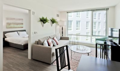 Photo for Sonder | The Continuum | Charming 1BR + Gym