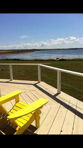 42 foot wrap around deck - water views abound