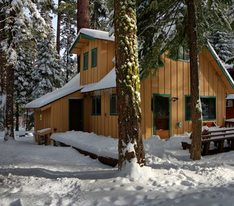 Photo for The snow is here!!!... Charming Family Friendly - West Shore Tahoe Cabin