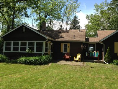 Photo for Delightful private cottage, lakefront between Goderich and Bayfield