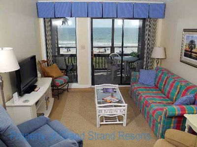 Photo for Tilghman Beach and Racquet Club Unit: 207! Oceanfront 3 Bedroom Condo. Book now for best rates!