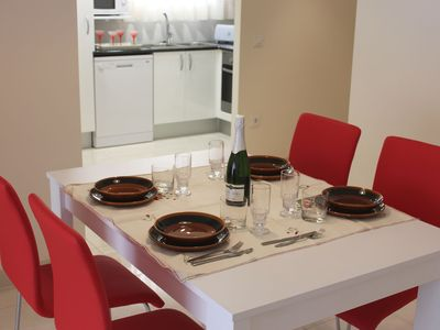 Photo for modern and comfortable apartment in Rosas to 150 m from the beach with wifi