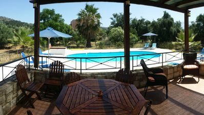 Photo for Villa nr Almyrida☀️ Private Pool Gated For Child Safety ☀️ FREE WiFi